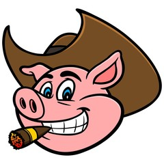 Pig With Cigar
