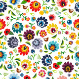Fototapety Polish folk pattern vector