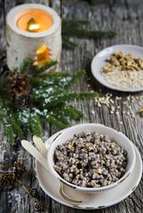 Kutia, traditional Christmas dish