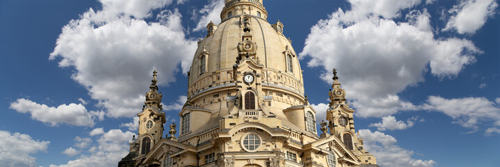 Dresden Frauenkirche ( literally Church of Our Lady),Dresden
