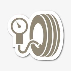 Logo station gonflage.