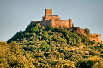 Alconchel castle hill
