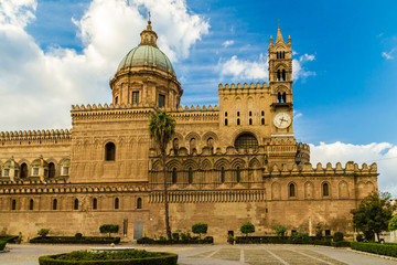 The Cathedral of Palermo, Sicily ( Italy).