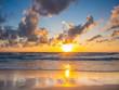 Sea sunrise in Koh Samui island