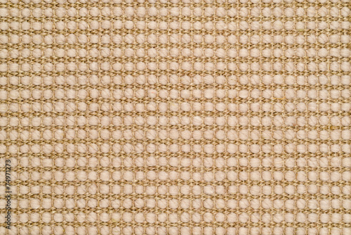 Canvas Textures Woven Sisal & Wool Rug Background