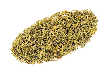 Dried thyme isolated