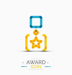 Award icon, logo