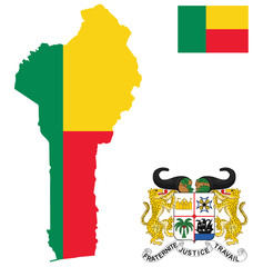 Republic of Benin flag