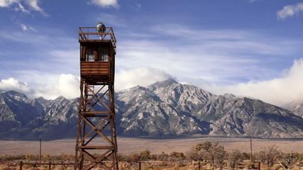 Guard Tower Searchlight Manzanar National Historic Site CA