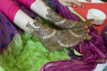 henna design, bride , wedding, Rajasthan, India