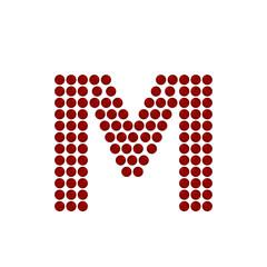christmas font M