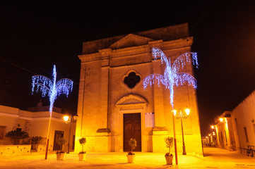 Acaya Chiesa di Santa Maria della Neve