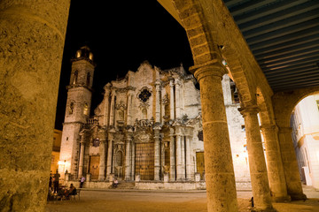 Cathedral, old Havana, Cuba