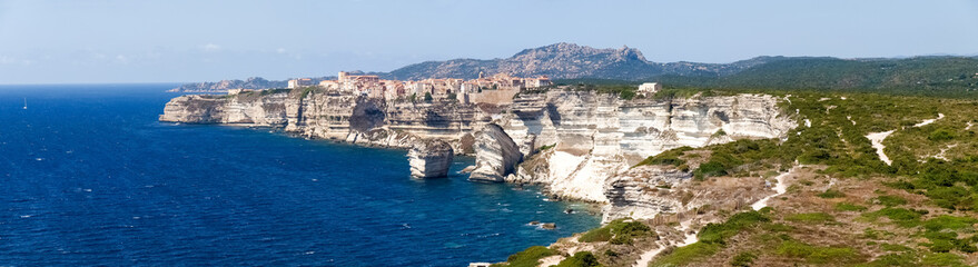 White cliffs of Bonifacio