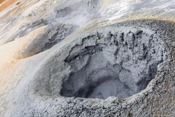 Islanda, area geotermale di Hverir