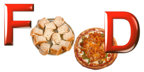 Food pizza e sandwich