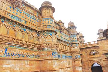 The stunning 8th-century Gwalior fort Madhya Pradesh  India