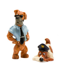 Police dog toy