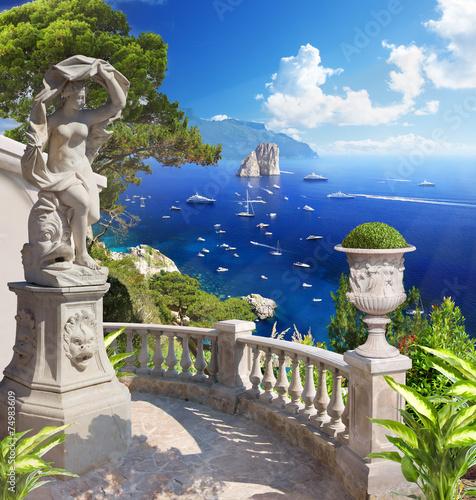 Mediterranean landscape - 74983609