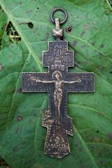 krzyż prawosławny Jezus Chrystus