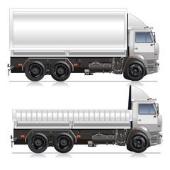 Cargo Truck delivery. vector