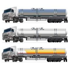 tanker semi-rtuck vector
