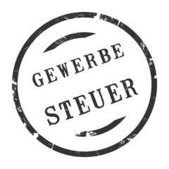 sk217 - StempelGrafik Rund - Gewerbesteuer - g2705