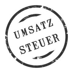 sk218 - StempelGrafik Rund - Umsatzsteuer - g2706