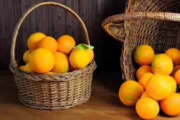 Cesti di arance