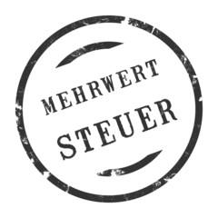 sk219 - StempelGrafik Rund - Mehrwertsteuer - g2707