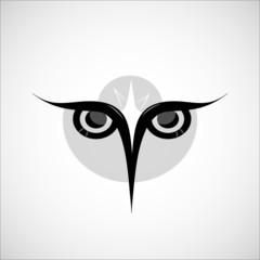 owl vector illustration for business