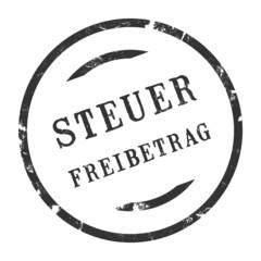 sk220 - StempelGrafik Rund - Steuerfreibetrag - g2708