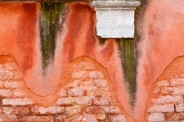 Wall in Venice
