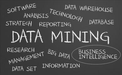 Data mining word cloud