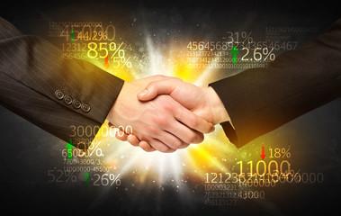 Economy handshake