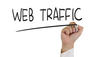 Web Traffic Internet Concept