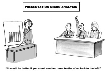 "Presentation Micro Analysis: ""... stand... an inch..."""