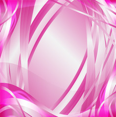 Abstract wave pink background