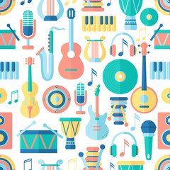 Seamless musical pattern