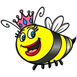 Queen Bee Stock Vectors Clipart and Illustrations  123rfcom