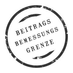 sk227 - StempelGrafik Rund - Beitragsbemessungsgrenze - g2715