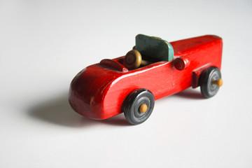 AUTOMOBILE GIOCATTOLO DI LEGNO