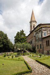 Perugia - St Peter Abbey, Medieval Garden