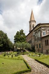 Perugia - St Peter Abbey, Medieval Garden