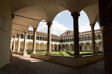 Perugia - The Archaeological National Museum of Umbria, cloister