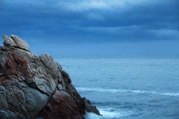 Scaur Dramatic seascape