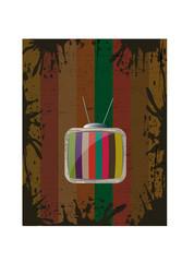 Vintage TV Backround