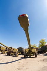 The 152 mm howitzer 2A65 MSTA-B