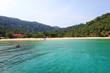 Île de luxe eau turquoise