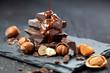 schokolade stappel  - 74994429